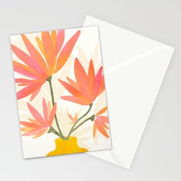 Bright Blooms / Floral Painting Stationery Cards
