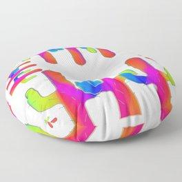 Cactus Rainbow 01 Floor Pillow