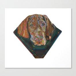 Alphabet Doggie Letters Canvas Print