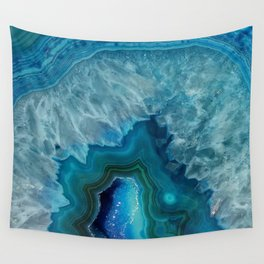 Agate Crystal Slice Wall Tapestry