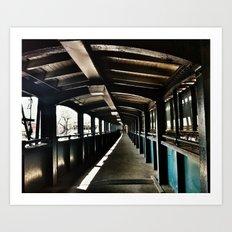 Subway Series No.4 Art Print