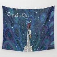 once upon a  time Wall Tapestries featuring Once upon a time by E.Seefried Art