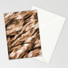 Camo - Beige on Beige Stationery Cards
