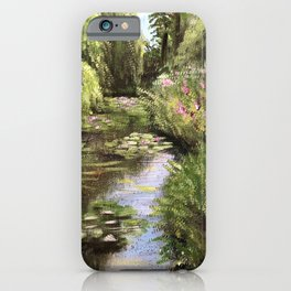 Monet's Gardens iPhone Case