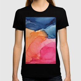 Tropical Bliss - Alcohol Ink Painting T-shirt