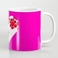 dot Mugs featuring Dot by ♥ Charlie