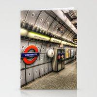 velvet underground Stationery Cards featuring Underground by David Pyatt