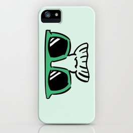 Too Cool (green) iPhone Case