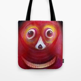 Red Ghost Tote Bag
