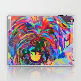 Abstract Doggo Laptop & iPad Skin