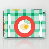 breakfast iPad Cases featuring breakfast by vitamin