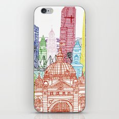 Melbourne Towers iPhone Skin