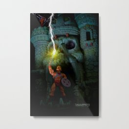 By the Power of Grayskull, I Have the POWWWEEERRR!!!! Metal Print