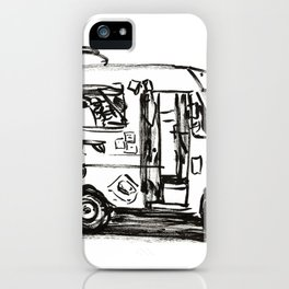 Food truck iPhone Case