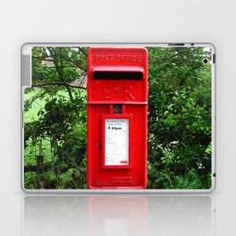 Red UK Letterbox Painting Laptop & iPad Skin