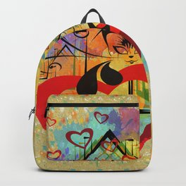 Liebe ist in der Luft - love is in the air Backpack