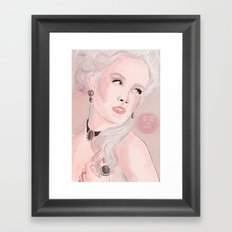 Marie Antoinette (Let Them Eat Cake) Framed Art Print