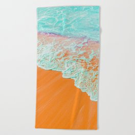 Coral Shore #photography #digitalart Beach Towel