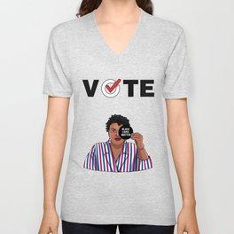 Vote Black Lives Matter Unisex V-Neck