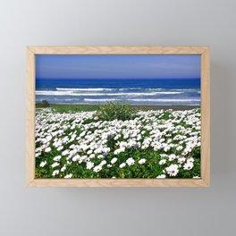 White Spring Framed Mini Art Print