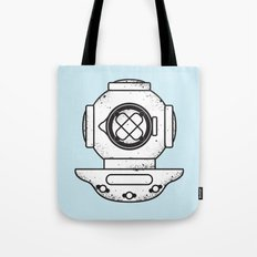 Deep Sea Dive Helmet Tote Bag