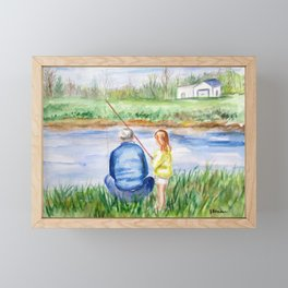 Fishing Memories Framed Mini Art Print