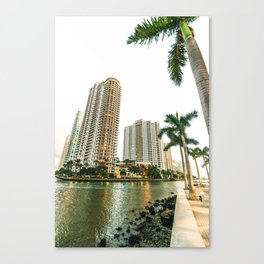 miami downtown city Canvas Print
