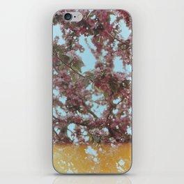 Analog tree iPhone Skin