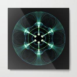 Biological Sphere 1 Metal Print