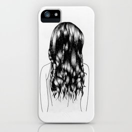 Updo iPhone Case