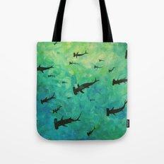 every week is shark week Tote Bag