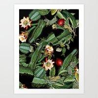 botanical Art Prints featuring BOTANICAL  by sametsevincer