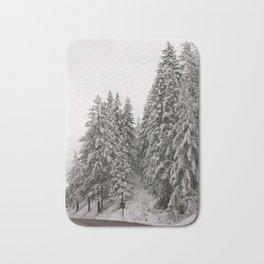 Winter Road - Carol Highsmith Bath Mat