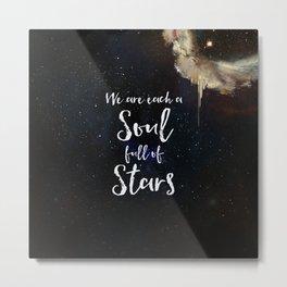 Soul Full of Stars Metal Print