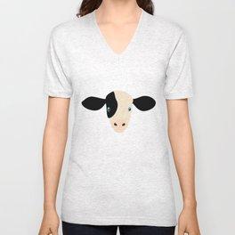 Cow-mor Unisex V-Neck