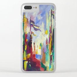 A Day in Chicago Clear iPhone Case