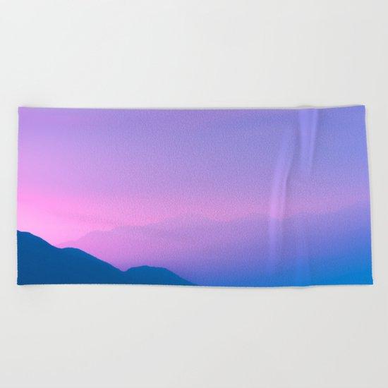 Sunset Layers Beach Towel