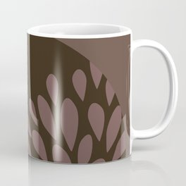 Afro Diva : Sophisticated Lady Pink Taupe Lavender Coffee Mug