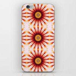 Dahlia Manipulation Grid iPhone Skin