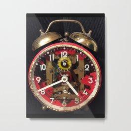 Antique alarm clock Metal Print