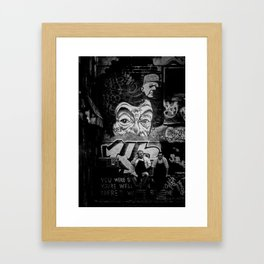 Smoko Framed Art Print