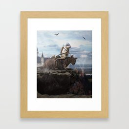 The Dragon Hunter Framed Art Print