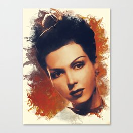 Ann Miller, Hollywood Legend Canvas Print