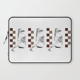 Triple Peanut Butter Illustration Laptop Sleeve