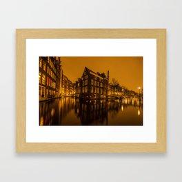 Amsterdam secrets Framed Art Print