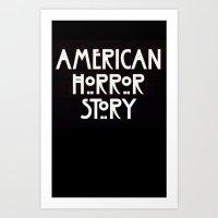 ahs Art Prints featuring AHS Murder. by Fashionable