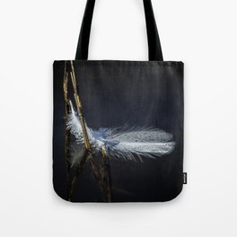 Feather on Water Tote Bag