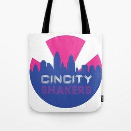 CinCity Shaker Circle Logo Tote Bag