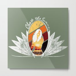 Chase the Summer Metal Print