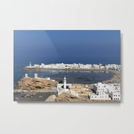 Sur town near Muscat, Oman Metal Print